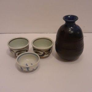 Joyce Chen sake set ...set of 4
